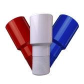MIT Powder Coatings - Red, White & Blue Bundle - Red Baron PESR-500-G9, Sky White PESW-500-G9, Blue Streak PESBL-400-G9