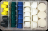 MIT Masking Supplies - 37 piece XL High Temp Silicone Plug Kit MIT-PK-037