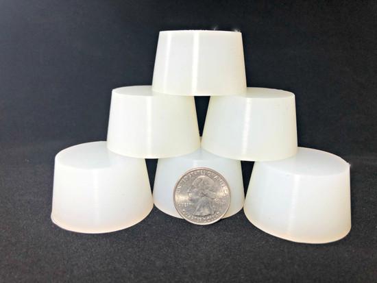 "MIT Masking Supplies -High Temp Silicone Plugs 1.772""x1.457""x1"" (50pc.)"