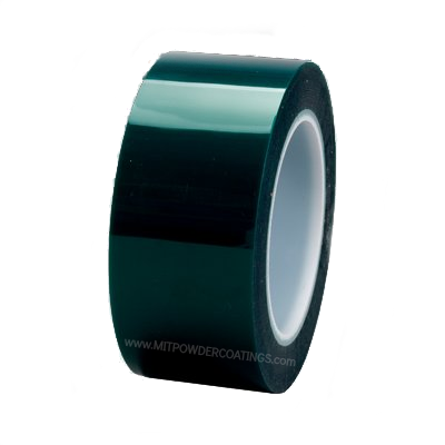 3M™ High Temp Polyester Masking Tape 8992 Green, 1/4 in X 72 yd