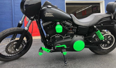 MIT Powder Coatings - Neon Green PESGR-670-SG6 - Photo Submitted by Aegis Performance Coatings
