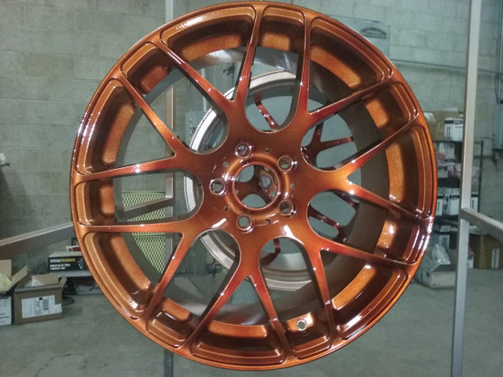 MIT Powder Coatings - Copper - PESSP-680-SG6 Photo Submitted by David Reicher - A1 Powder Coating