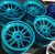 MIT Powder Coatings - Candy Teal PESB-680-G9 - Photo submitted by Sharp Customs