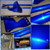 MIT Powder Coatings - Candy Blue PESBL-681-G9 over Alien Silver- Photo Submitted by Johnson's Powder Coating