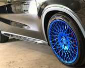 MIT Powder Coatings - Candy Blue PESBL-681-G9 - Photo Submitted by ROC Coatings