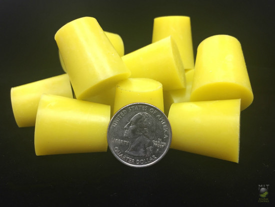"MIT Masking Supplies - High Temp Silicone Plugs .708""x.938""x1"" (100 pc.)"