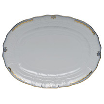 Millman-Pope Herend Princess Victoria Platter, Light Blue