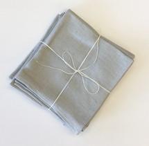 Ruzicka-Pavic Lara Linen Napkin Set of 6 | Silver