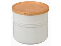 "Ruzicka-Pavic Le Creuset 5.5"" Medium Storage Canister | White"