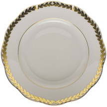 Keeler-Holekamp Herend Golden Laurel Bread+Butter Plate