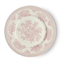 Burleigh Pink Asiatic Pheasants  | Beautiful china dinnerware to adorn your tablescapes and add to your Sasha Nicholas wedding & gift registry