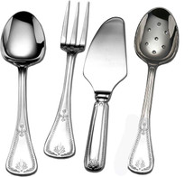 Purcell-Araiza Consul Stainless 4-Piece Hostess Set