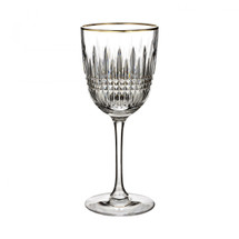 White-Dunlap Waterford Lismore Diamond Glad Wine Glass