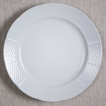"MASSEY-GAROFALO WEDDING WEAVE 12"" CHARGER/DINNER PLATE"