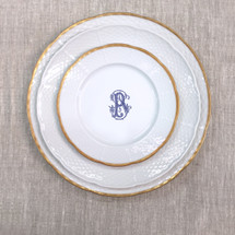 BYRNES-PFLUGER WEDDING LEXINGTON PLACE SETTING
