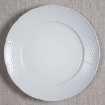 "BRIANNE KONKLE WEAVE 10.25"" DINNER PLATE WHITEWARE"