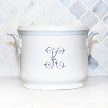 MORRIS-KING WEDDING LEAF HANDLED CHAMPAGNE BUCKET