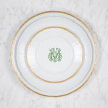 SIEFERT-MERRIMAN WEDDING LEXINGTON PLACE SETTING