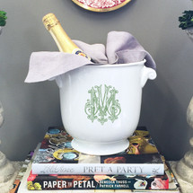 SIEFERT-MERRIMAN WEDDING CHAMPAGNE BUCKET