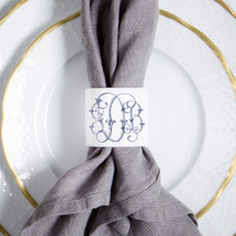 FRANZ-DANIELS WEDDING NAPKIN RING
