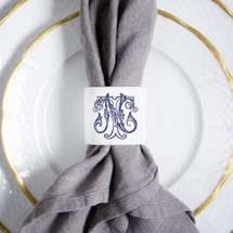 HESSE-BROOKS WEDDING NAPKIN RING