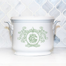 GORE-GALLUZZO WEDDING FLEUR DE LIS CHAMPAGNE BUCKET
