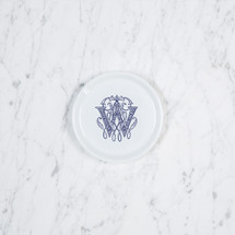 SCHLAFLY-WRIGHT WEDDING COASTER WITH MONOGRAM