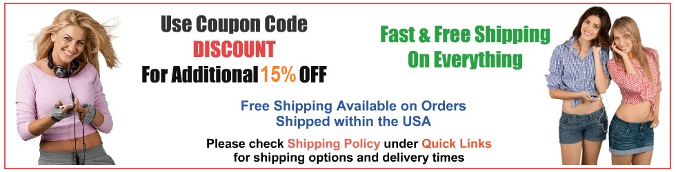 Check Shipping Policy under Quick Links for expected delivery times