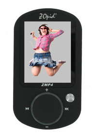4GB 15-in-1 Portable Media Player - Digital Camera - 2.4 inch Display