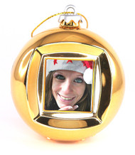 1.5 Inch Display Christmas Ball Digital Photo Ornament