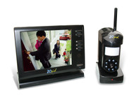 "Wireless 5.6"" Color LCD Monitoring  System Motion Sensor and Night Vision (Refurbished)"