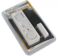 2-in-1 Mini Alarm System -Motion Detector -Door/Window Contact Sensor