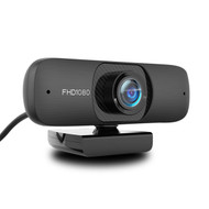 ZOpid Webcam with Microphone | 1080P FHD USB | Wide Angle Glass Lens Auto Focus Desktop Computer Web Camera for Windows and Mac OS | Plug and Play | Ideal for Gaming, Online Classes, Video Streaming