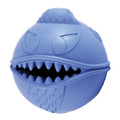 Jolly Pets MONSTER BALL Treat Stuffer Dog Toy! Durable Non-Toxic Rubber Blue!