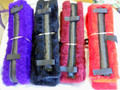 Pony Size Fleece Harness Saddle & Breast Collar Pads Set Amish Made