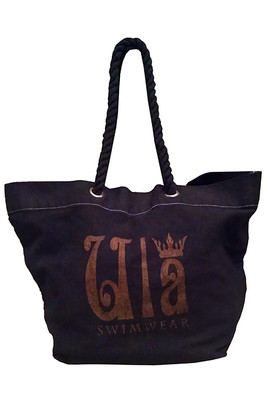 Cotton Logo Tote - Navy