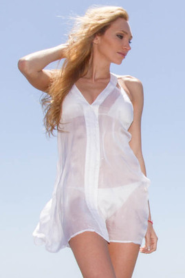 Athena Cover Up - White