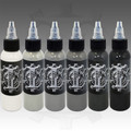 Industry Ink 1oz Opaque Grey Set