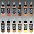 Industry Ink 12 Color Skin Tone Set
