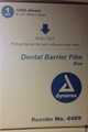 "barrier Film 4"" x 6"" 1200 Sheets per Roll (Blue)"