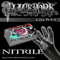 Blackwork Nitrile Medical Grade Exam Gloves *Box*