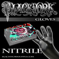 Blackwork Nitrile Medical Grade Exam Gloves *Case*