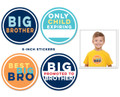 Sticky Bellies Big Brother Milestone Stickers