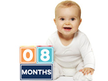 Sticky Bellies Milestone Brag Blocks for Boys