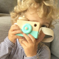 Wooden Toy Camera - Mint Fresh