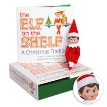The Girl Elf on the Shelf