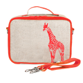 SoYoung Insulated Lunch Bag - Orange Giraffe