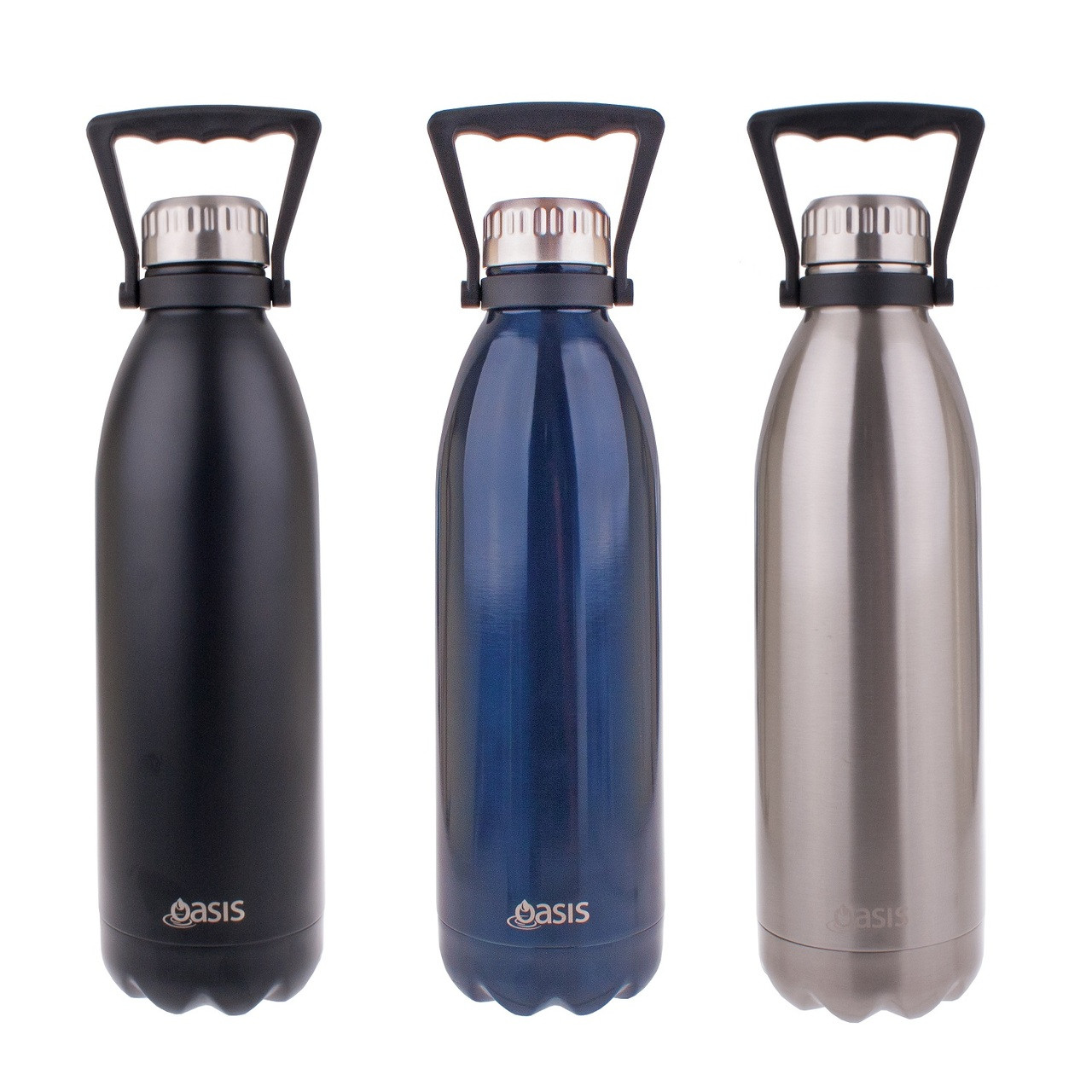 Oasis Insulated Stainless Steel Drink Bottle 1.5L. Loading zoom 33d5f98bc4b8