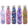 Oasis Insulated Stainless Steel Drink Bottle 350ml - Assorted Prints