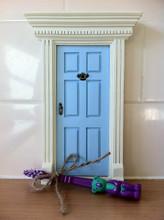 Little Fairy Door - Blue